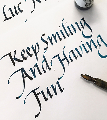 Italic Calligraphy Workshop
