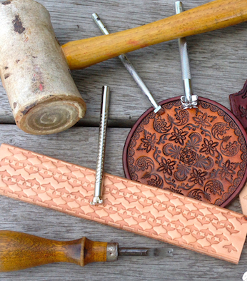 Intro to Leatherwork: Stamping, Carving & Embossing