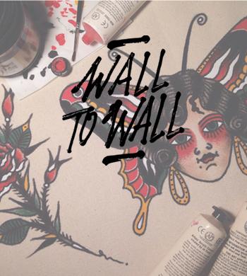 Wall To Wall Festival – Traditional Tattoo Flash Illustration Workshop