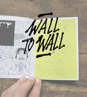 Wall To Wall Festival – Zine Making Workshop