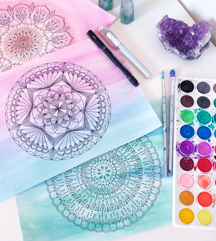 Mindful Illustration and Watercolour