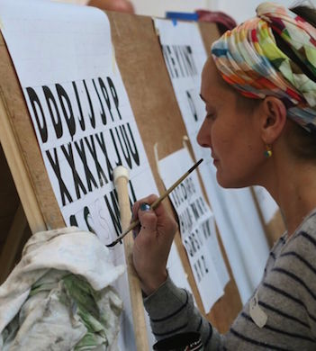 Beginners Sign Painting Workshop