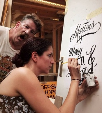 Mike Meyer Hand Lettering Workshop (Sydney)