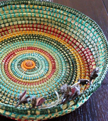 Sustainable Basket Weaving