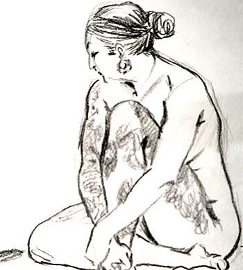 Life Drawing – Sunday Session