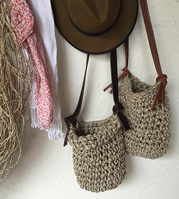 Weave a Linen Bag