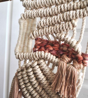Macrame + Weaving Masterclass with Little Feral