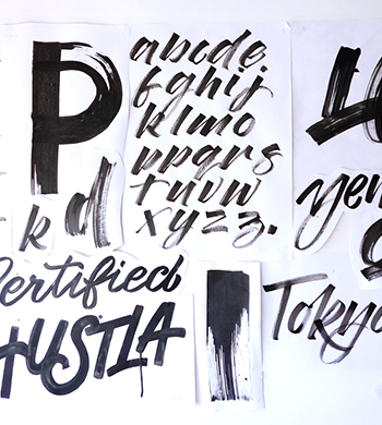Experimental Lettering Effects