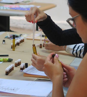 Essential Oils & Scent Making Workshop
