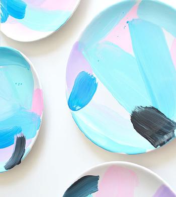 Ceramic Plate Painting