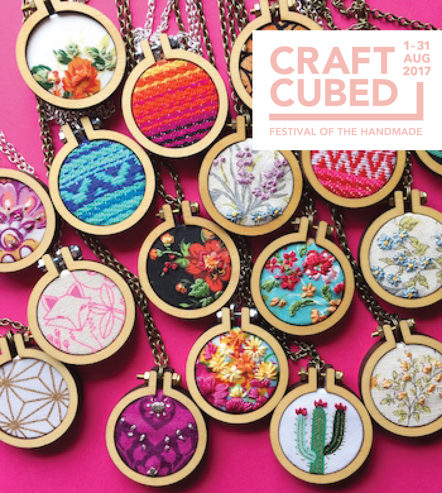 Craft Cubed – Modern Embroidery