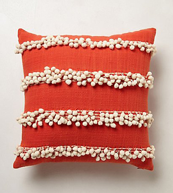 DIY Embellished Cushion