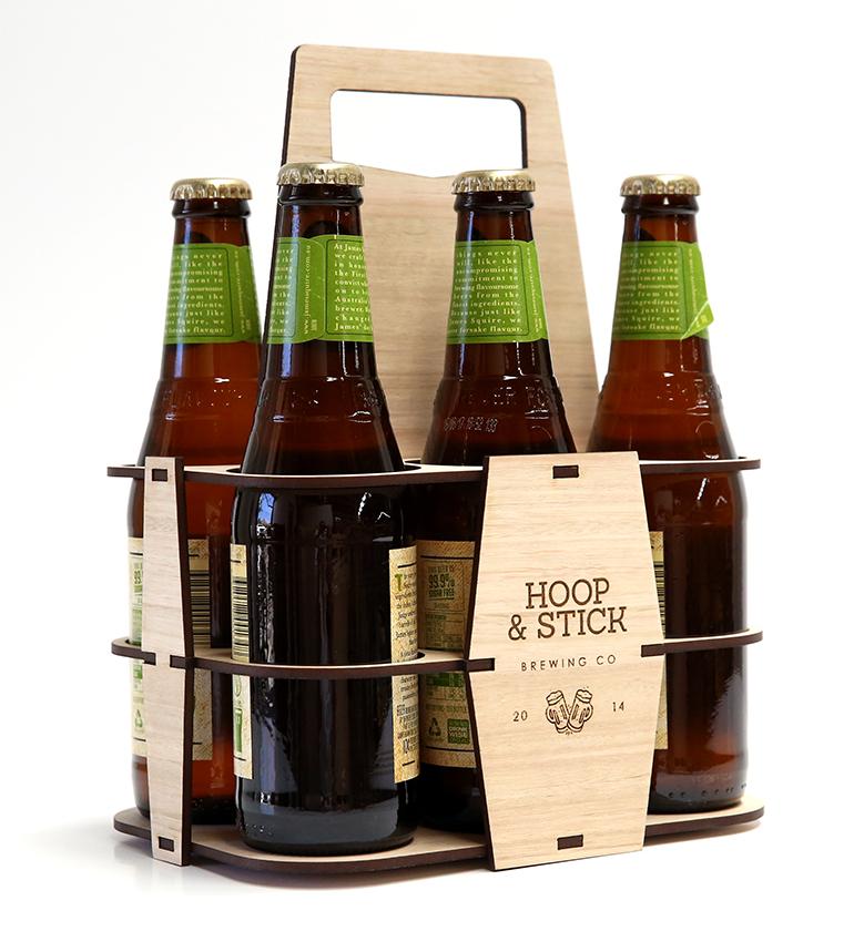Make a Laser Cut Beer Caddy