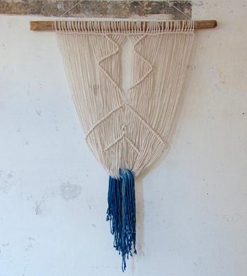 Make A Macrame Wall Hanging