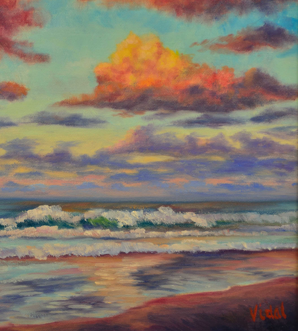 Oil Painting Masterclass: Painting the Beach at Sunset