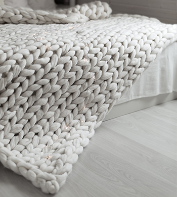 Make A Chunky Knit Blanket
