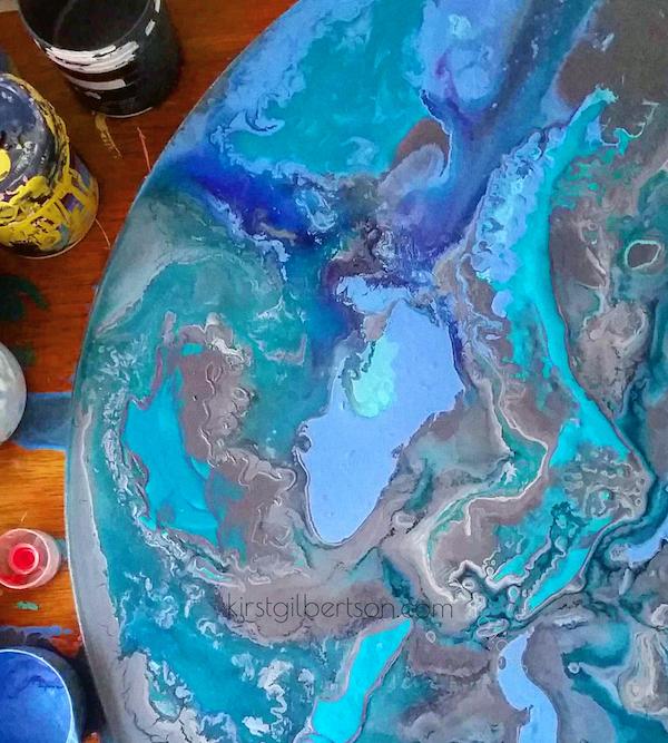 Fluid Resin Art