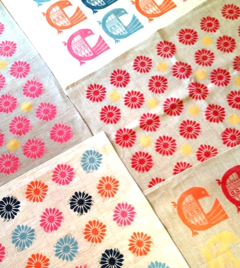 Printmaking on Fabric – Design and print your own linen tea towel!