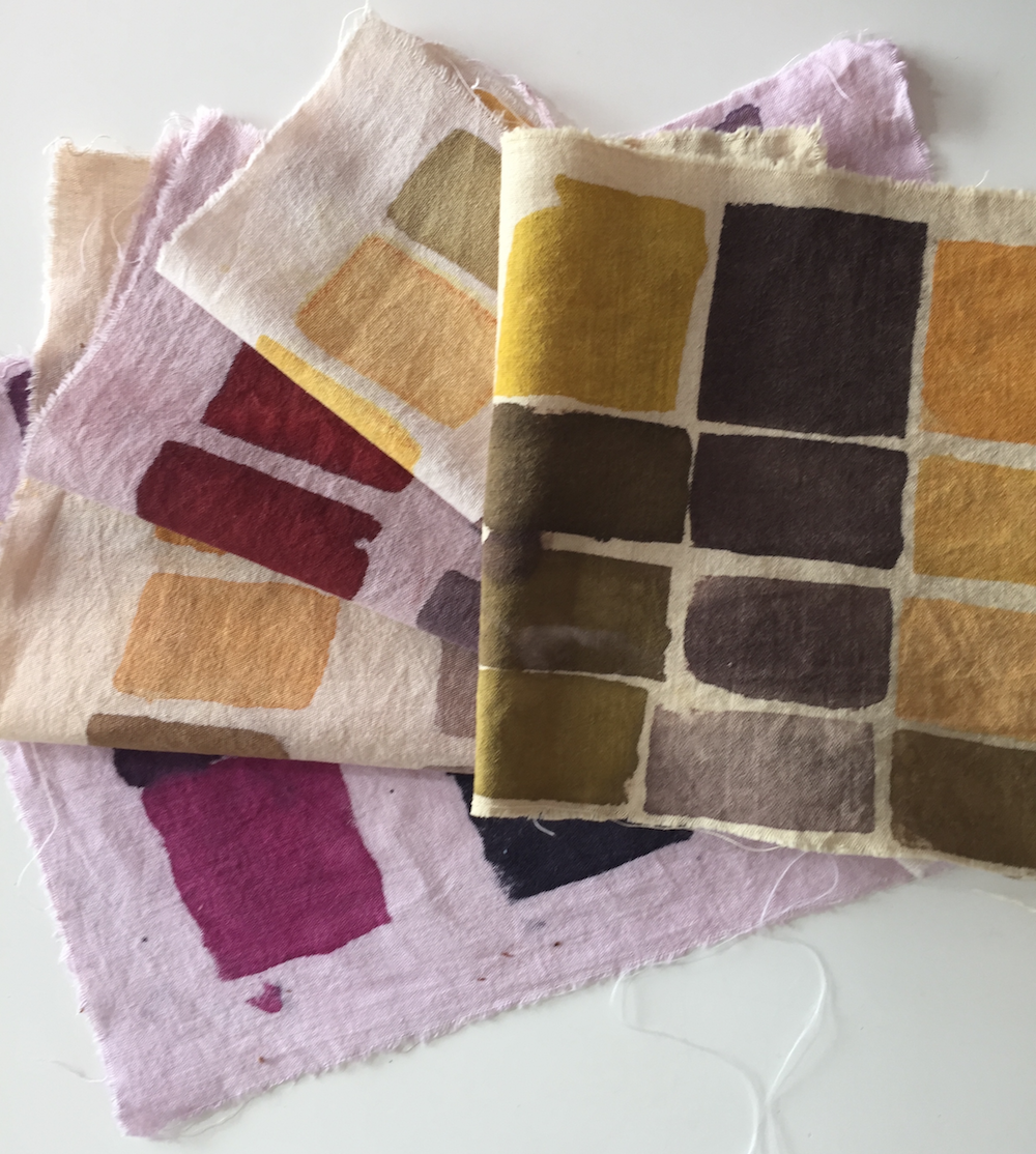 Mordant Printing for Sustainable Fashion