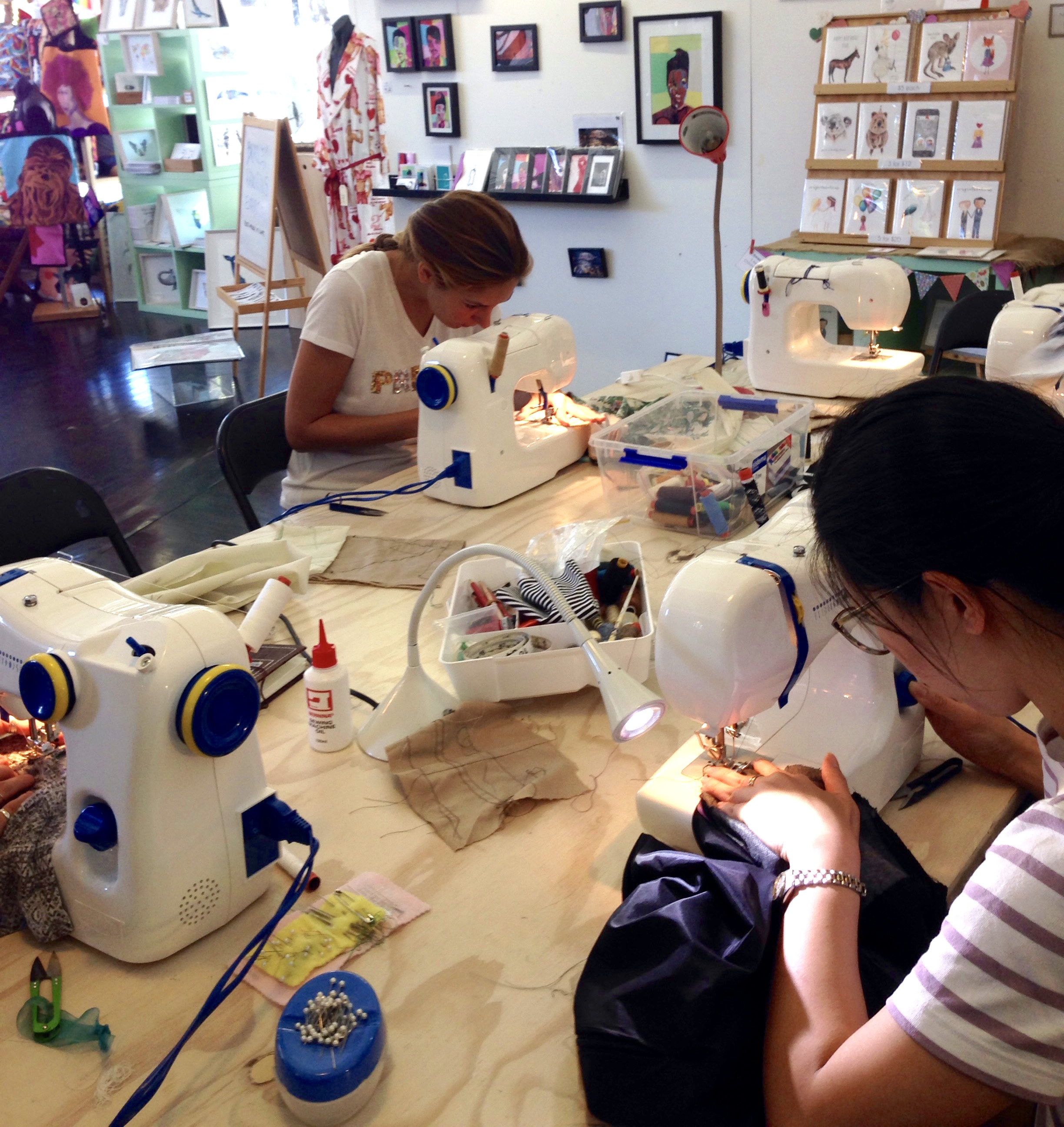 Learn to Sew at The Makery: Sewing Alterations