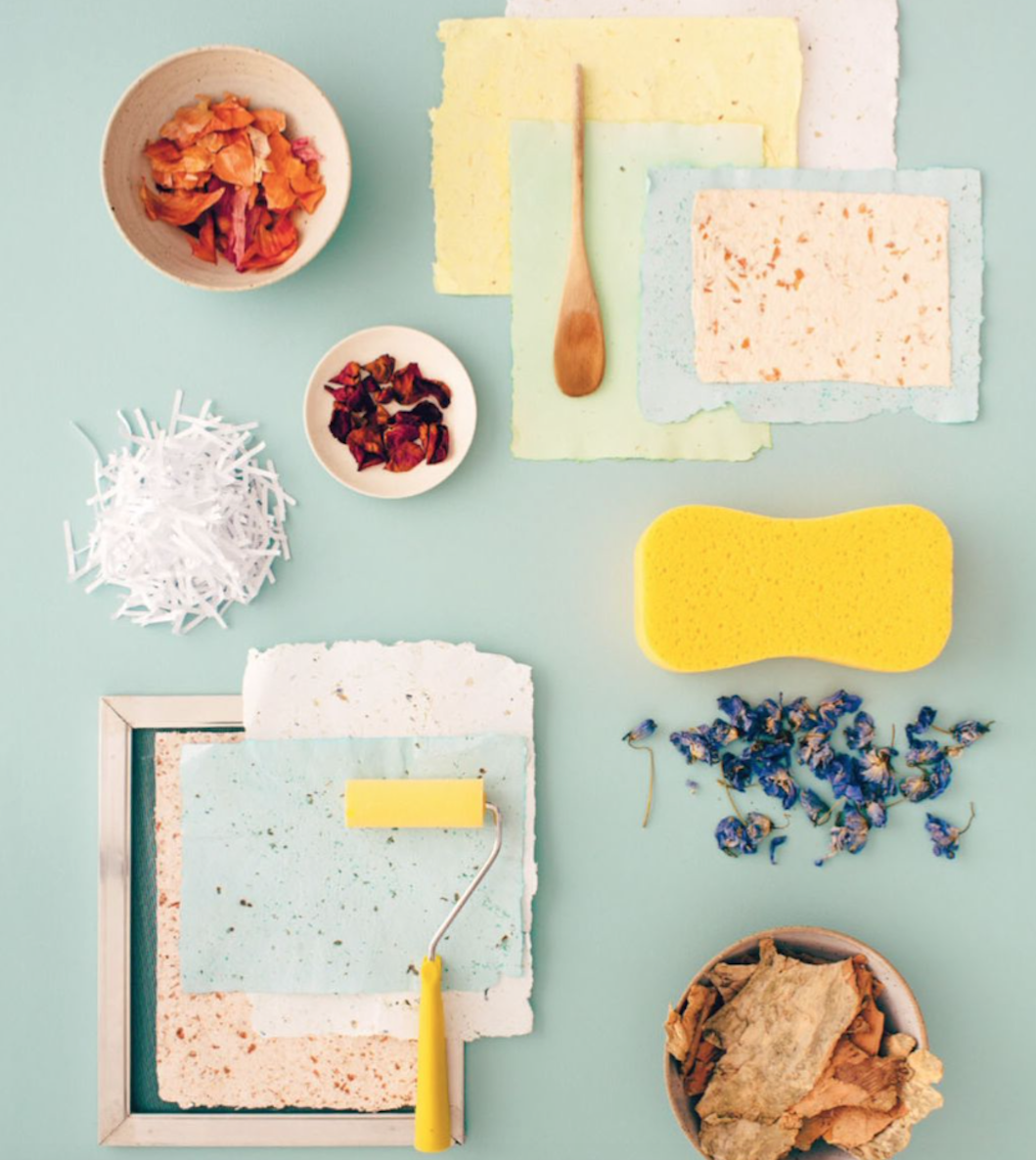 Paper Making: Reuse, Reinvent and Recycle
