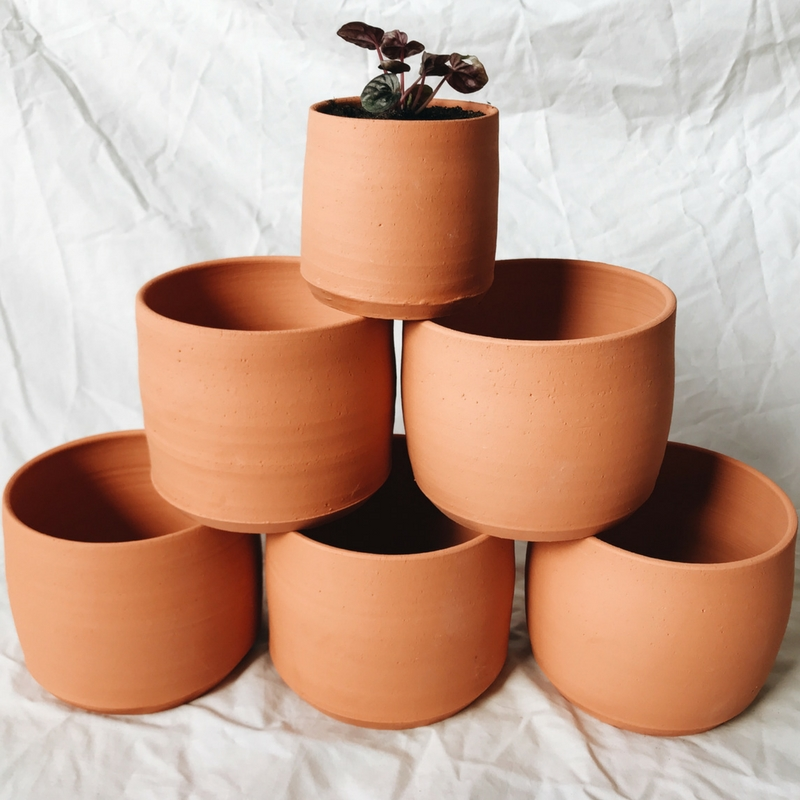 Hand Made Terracotta Planters
