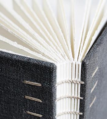 Hand-bound Journals