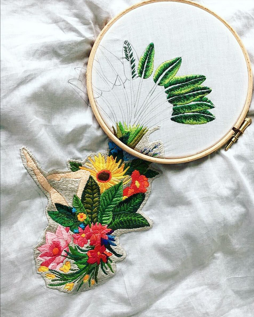 Intro to French Embroidery