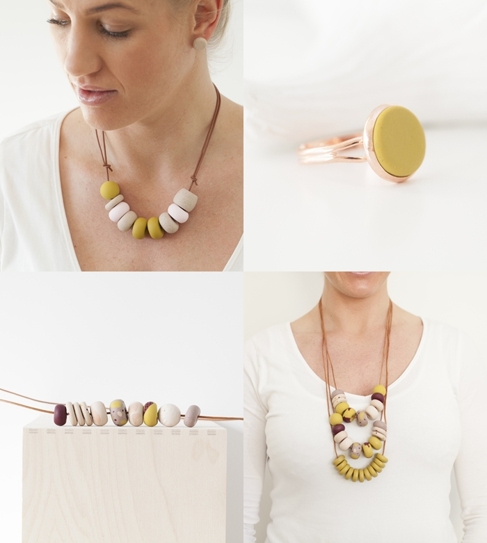 Polymer Clay Necklaces + Lanyards