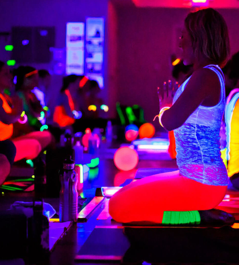NamaSLAY- Blacklight Buti Yoga
