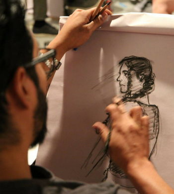 Beginner's Life Drawing with Covert Characters