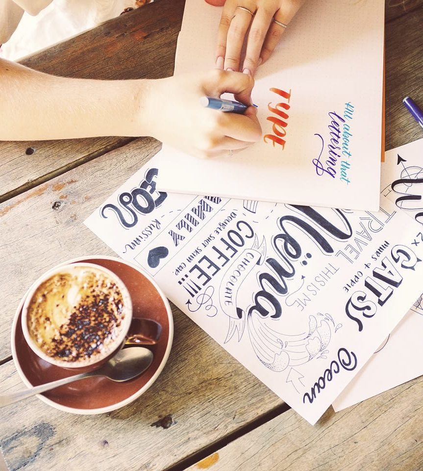 Craft on Commons: Intro to Brush Lettering
