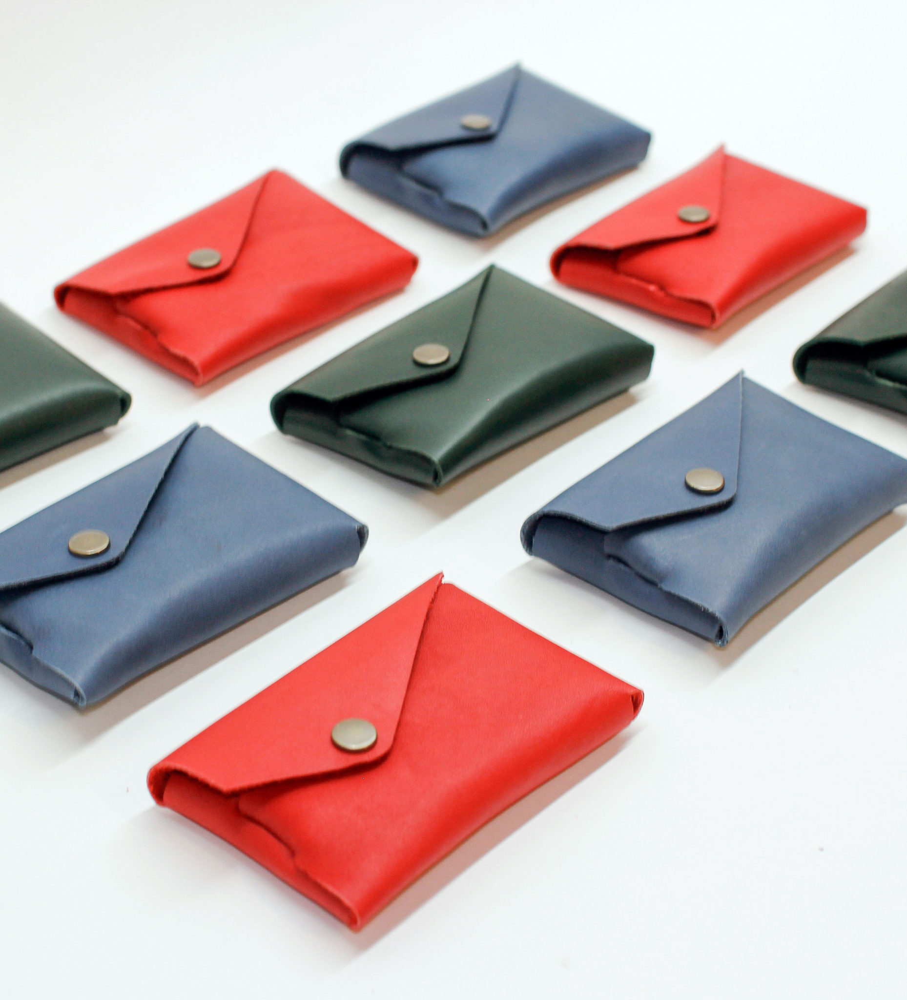 Craft On Commons: Handmade Leather Wallets