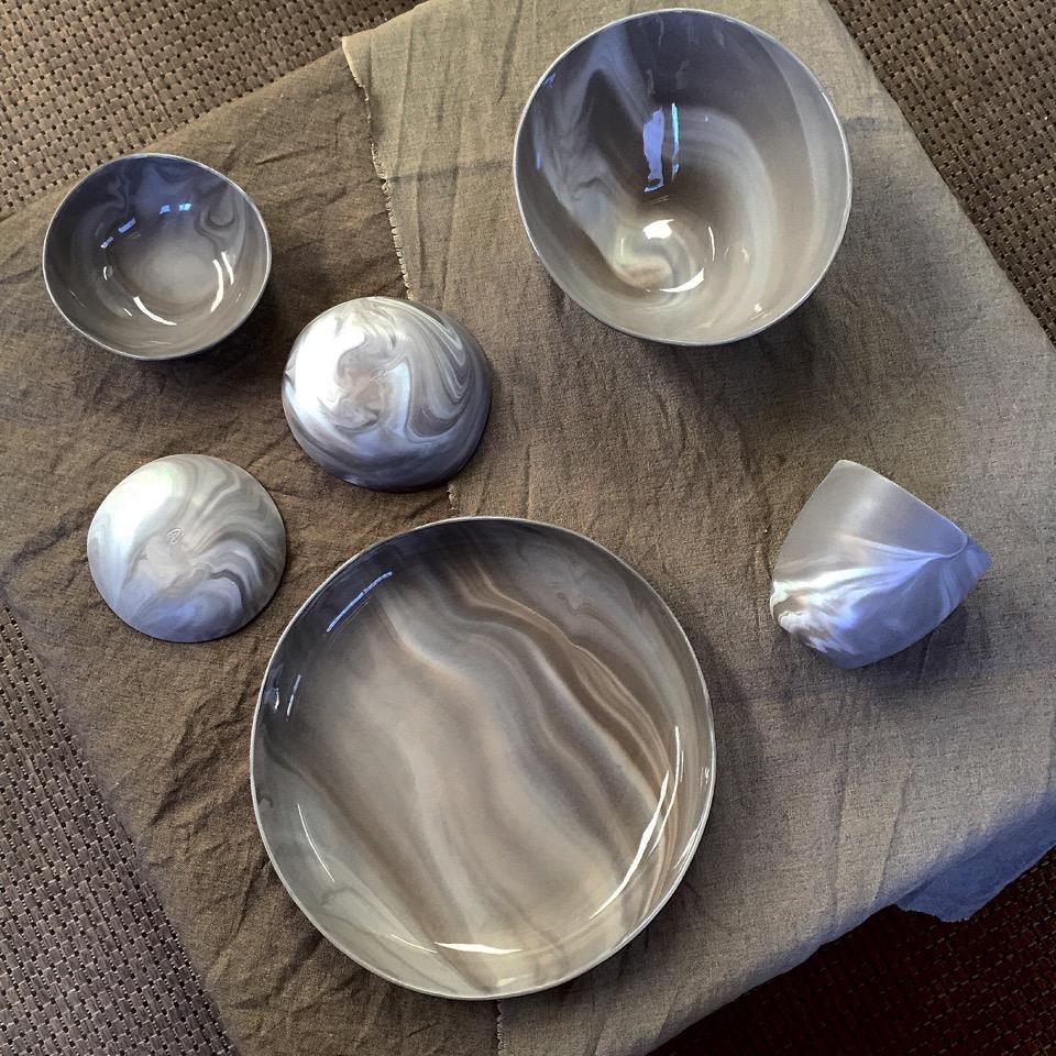 ADA 'Pebble Series' marbled