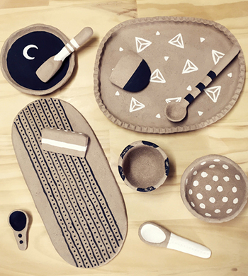 Clay-Hand Building: Plates and Platters