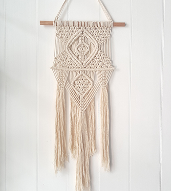 Intro to Macrame Wall Hanging