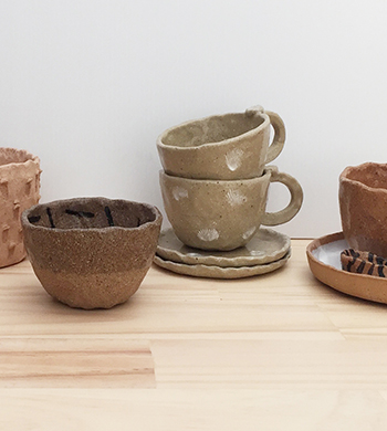 Clay Hand-Building: Cups & Bowls!