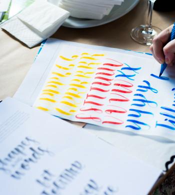 Brush Pen Lettering Basics