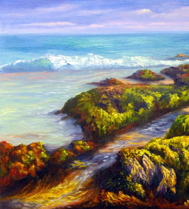 Oil Painting For Beginners: Australian landscapes