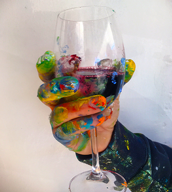 Finger Painting, Adult Style