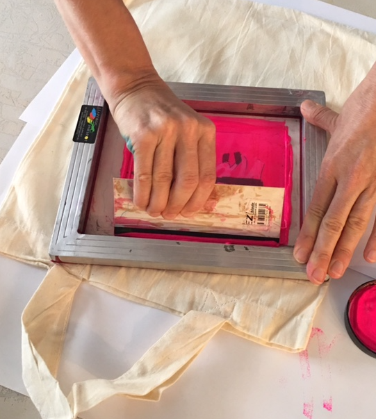 Crafty Christmas: Screen Printing Masterclass