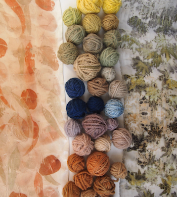 Botanical Fabric Dyeing