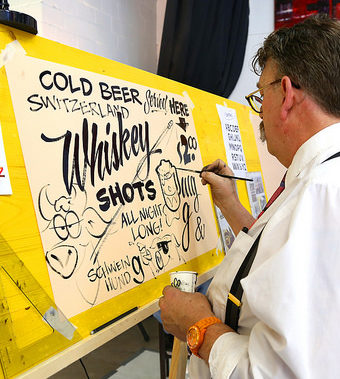 Mike Meyer Hand Lettering Workshop (Melbourne)