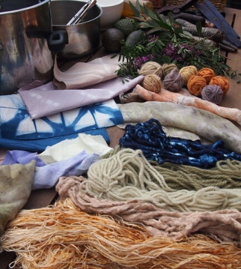 Found & Foraged Natural Fabric Dyeing