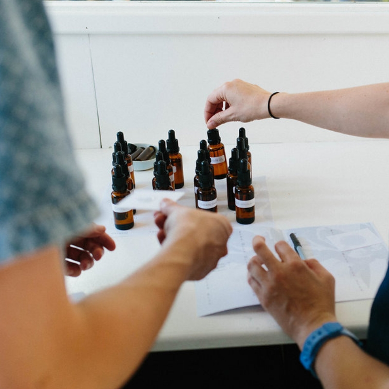Essential Oil Blending & Perfume Workshop