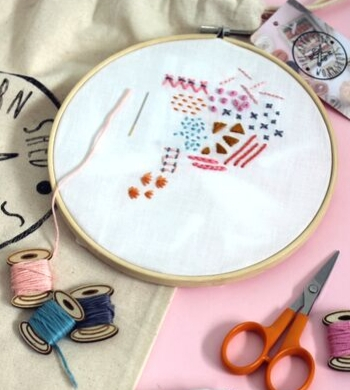 Intro to Embroidery