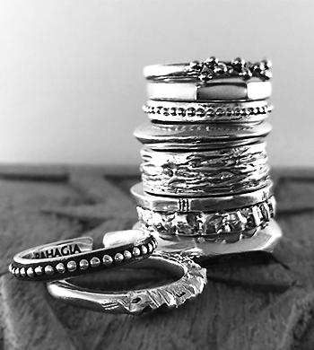 Silver Rings – Wax Carving and Casting