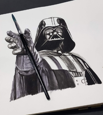 Star Wars Watercolour