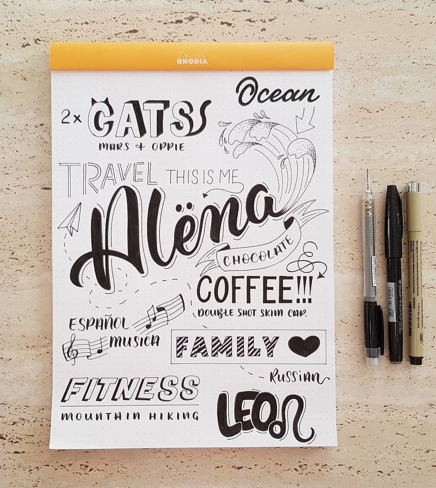 Creative Brush Lettering
