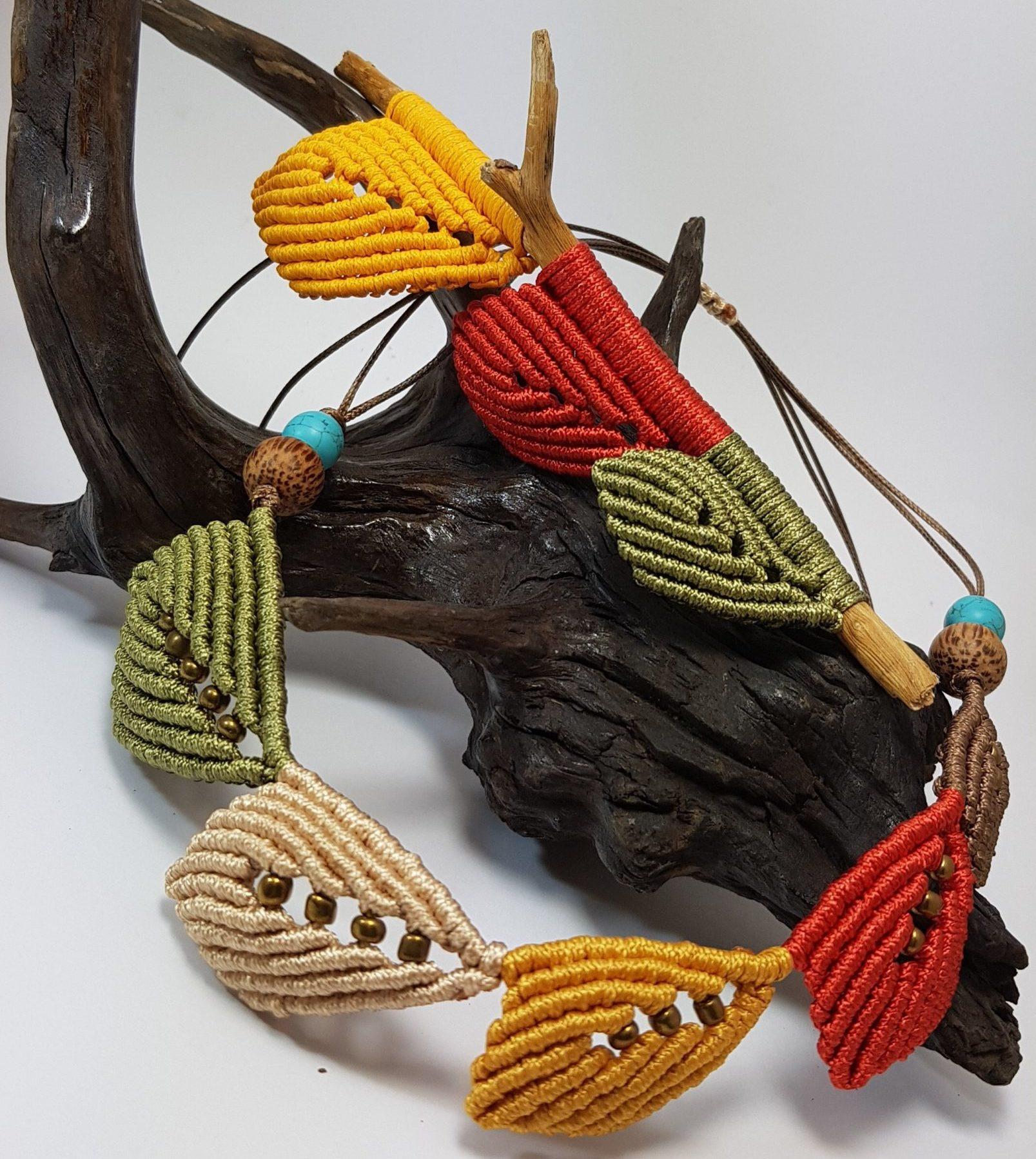 Micro-Macramé Jewellery